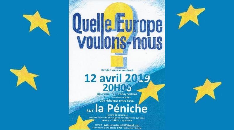 Soirée Europe organisée par l'ACI le 12 Avril