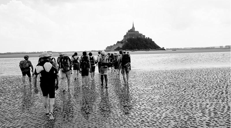 Pèlerinage 2019 des pères de famille, au Mont Saint-Michel