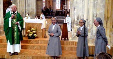 A la rencontre de sœur Rowena, nouvelle supérieure des sœurs de Saint-Paul de Chartres à Vaux