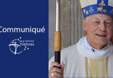 Communiqué de Mgr Eric Aumonier, évêque de Versailles, en la solennité de la Toussaint