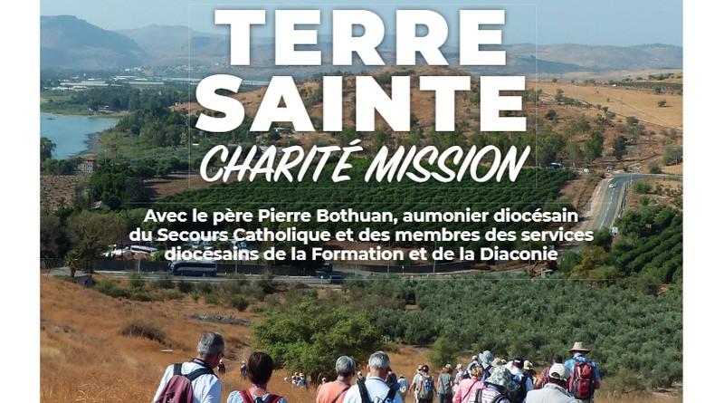 """Pèlerinage en Terre Sainte """"Charité Mission"""""""