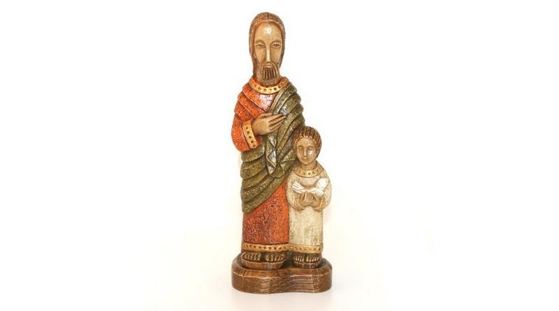 Statues pélerines de st Joseph
