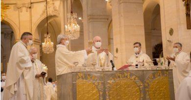 Monseigneur Luc Crepy, nouvel évêque de Versailles